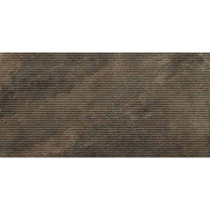 Текстура плитки Дженезис Меркури Браун Струк. Ретт. 30x60
