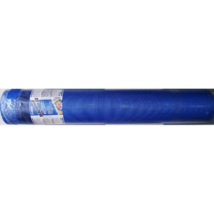 Строительная химия Mapenet 150 сетка стеклотканевая для армирования гидроизоляции рулон 50 метров
