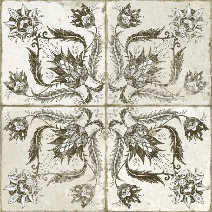 Текстура плитки FS Ivy Black 45x45