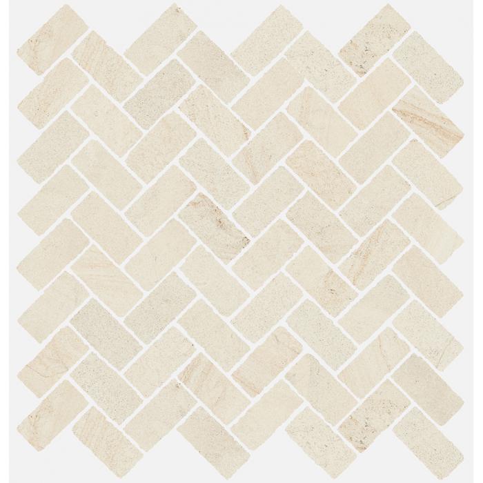 Текстура плитки Рум Уайт Мозаика Кросс 29.7x31.5