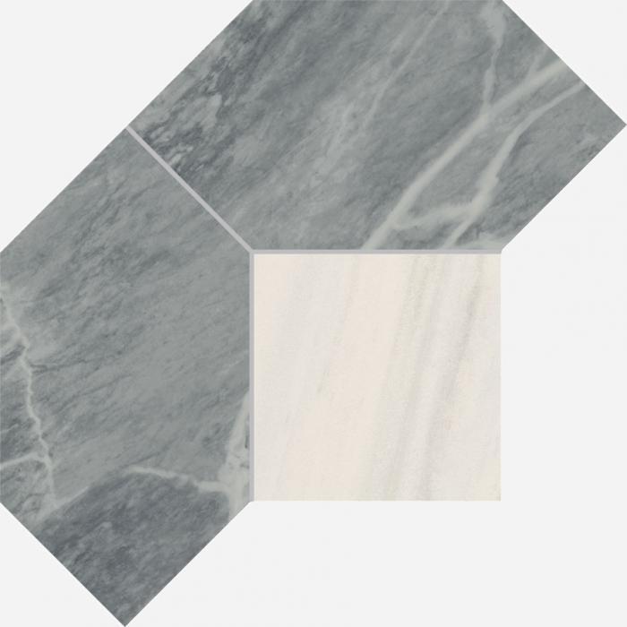 Текстура плитки Шарм Экстра Атлантик Мозаика Полигон 28,5х21 (0,04м2)