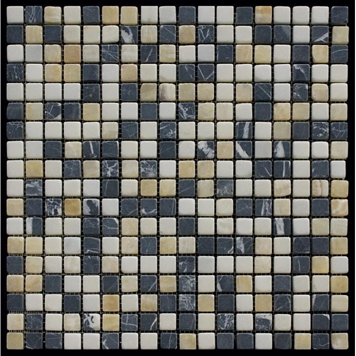 Изображение Mix Мозаика мрамор MT-06-15T (MT-06) 1,5х1,5