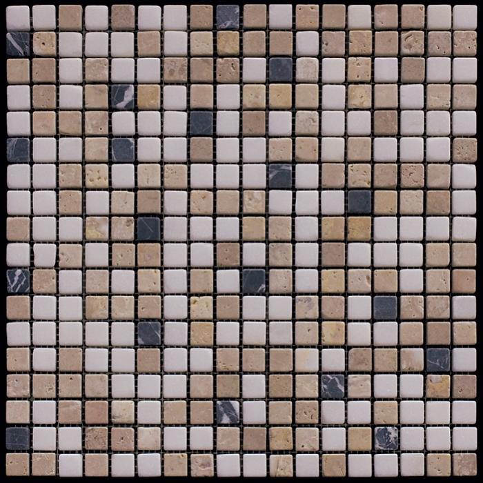 Изображение Mix Мозаика мрамор MT-08-15T (MT-08) 1,5х1,5