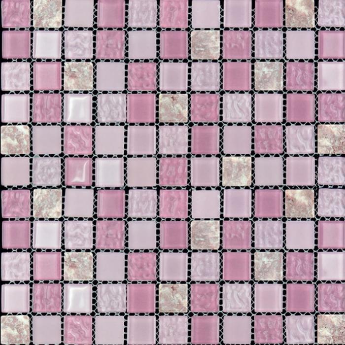 Изображение Mix Glass&Stone Мозаика микс MSD-063 (M4CTB63) 2,5х2,5
