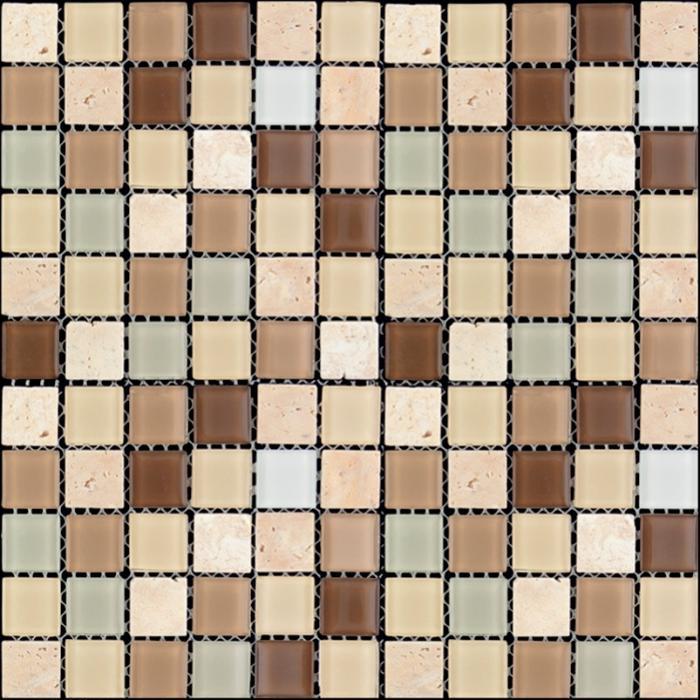 Изображение Mix Glass&Stone Мозаика микс MSD-419 2,5х2,5