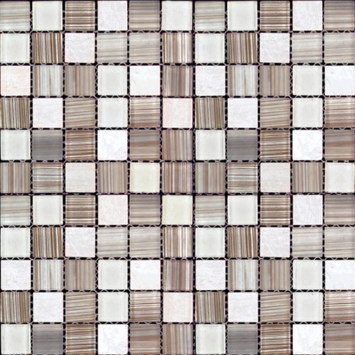 Изображение Mix Glass&Stone Мозаика микс MSD-428 (MSDH-428) 2,5х2,5