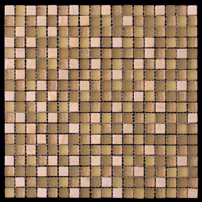 Изображение Mix Glass&Stone Мозаика микс PST-317 (GS-2317) 1,5х1,5