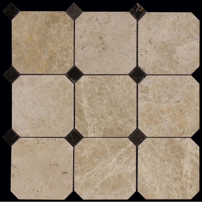 Изображение Octagon1 Мозаика полированная M036+M076-BP 10х10