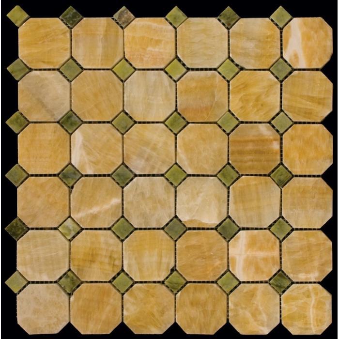 Изображение Octagon1 Мозаика полированная M073+M068-BP 5х5