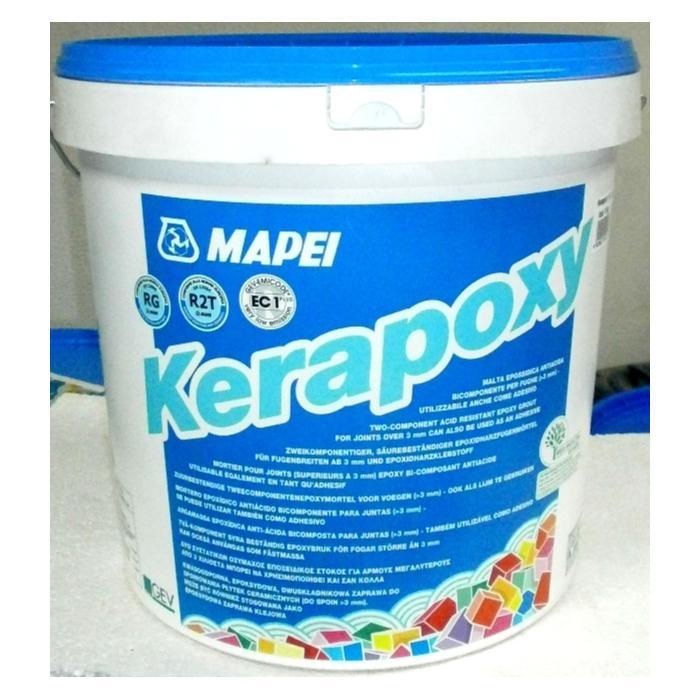 Строительная химия Kerapoxy 112  2 кг эпоксидный шовный заполнитель цвет серый medium