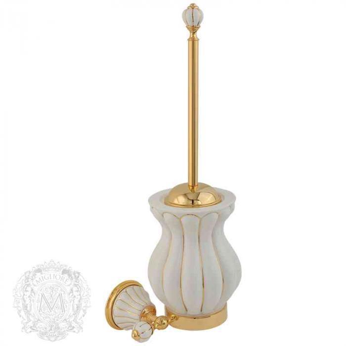 Фото сантехники Olivia Ерш подвесной (с декором), золото