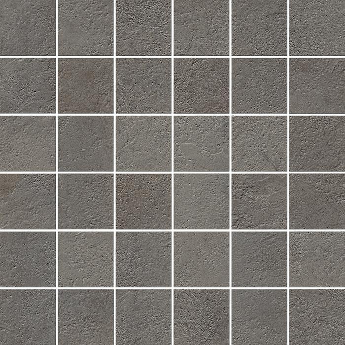 Текстура плитки Миллениум Блэк Мозаика 30x30