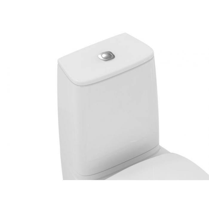 Фото сантехники Dea Бачок для унитаза T329501, двойной смыв 3/6л, нижняя подводка, белый
