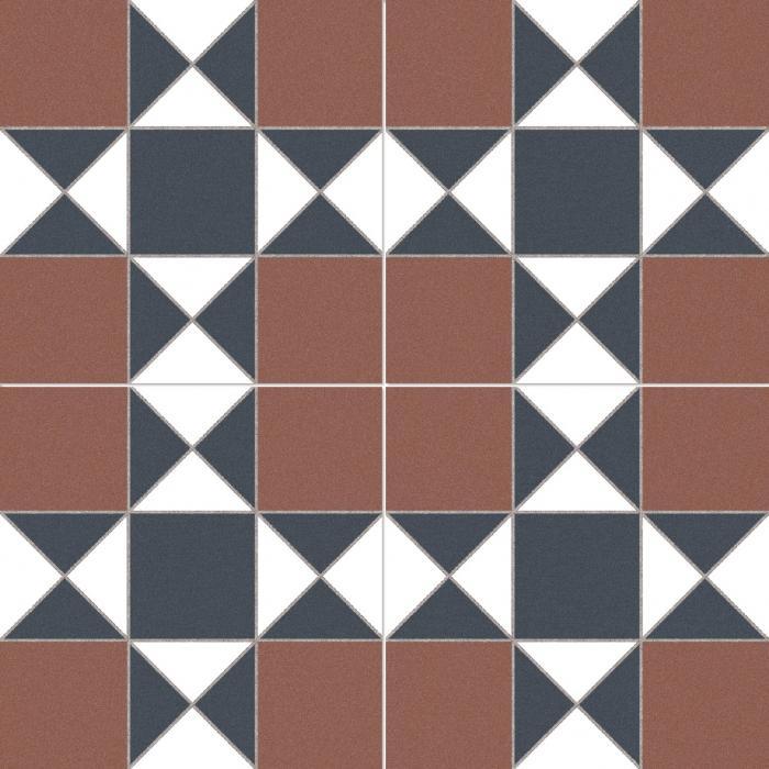 Текстура плитки Cardiff Burdeos 45x45 - 2