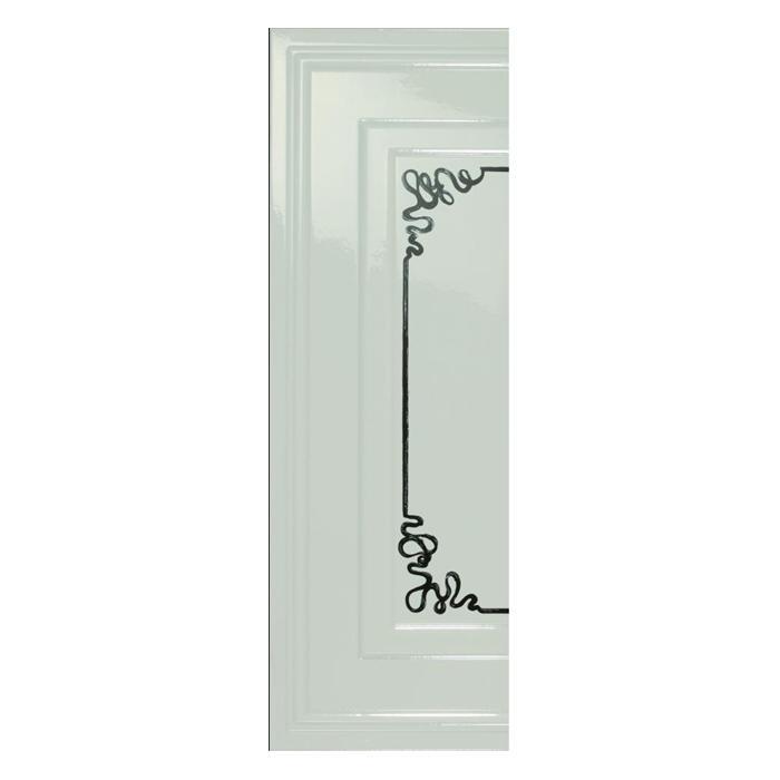 Текстура плитки Ermitage Ang.Boiserie Classic Bianco 25.5x78