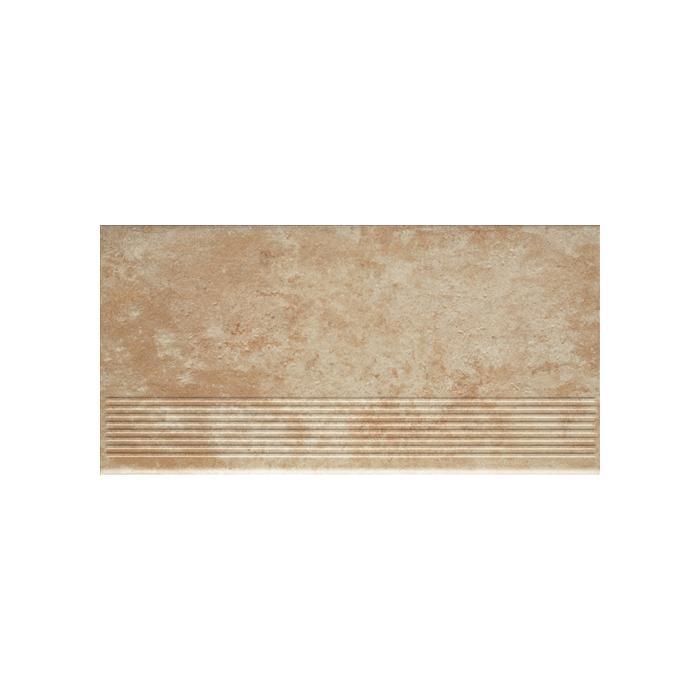 Текстура плитки Ilario Beige Stopnica 30x60