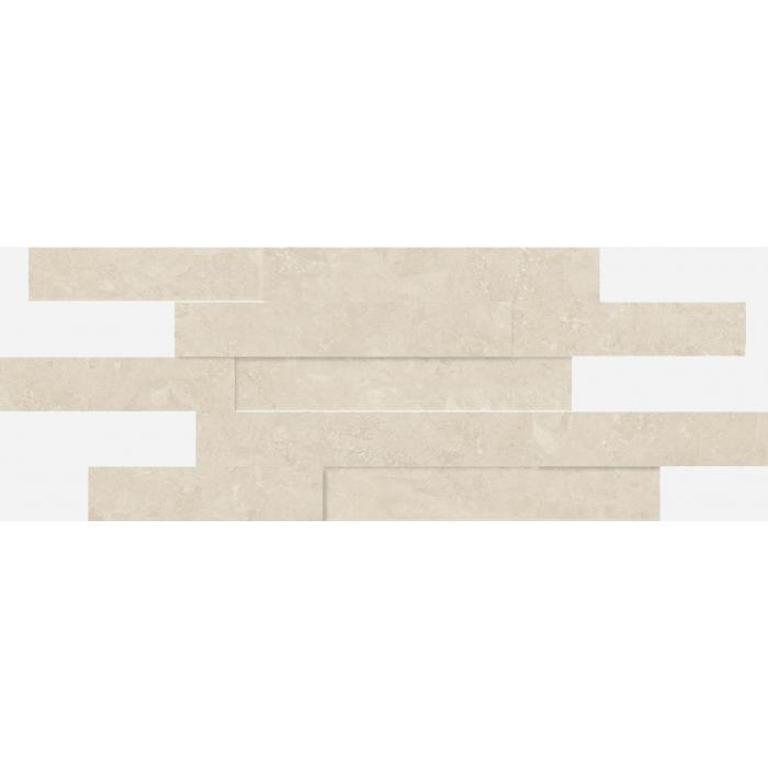 Текстура плитки Дженезис Уайт Брик 3Д Нат. 28x78 (0,164м2)