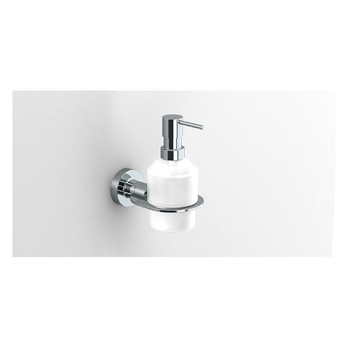 Фото сантехники Tecno Project Дозатор для жидкого мыла, стекло/хром