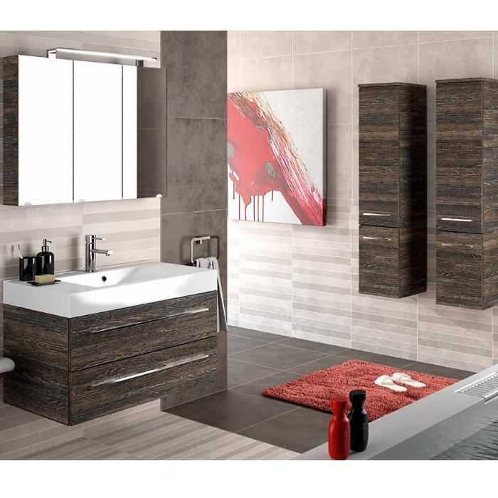 Фото сантехники Starlight Пенал подвесной 30,5x35,9x137 см, цвет венге, левый - 2