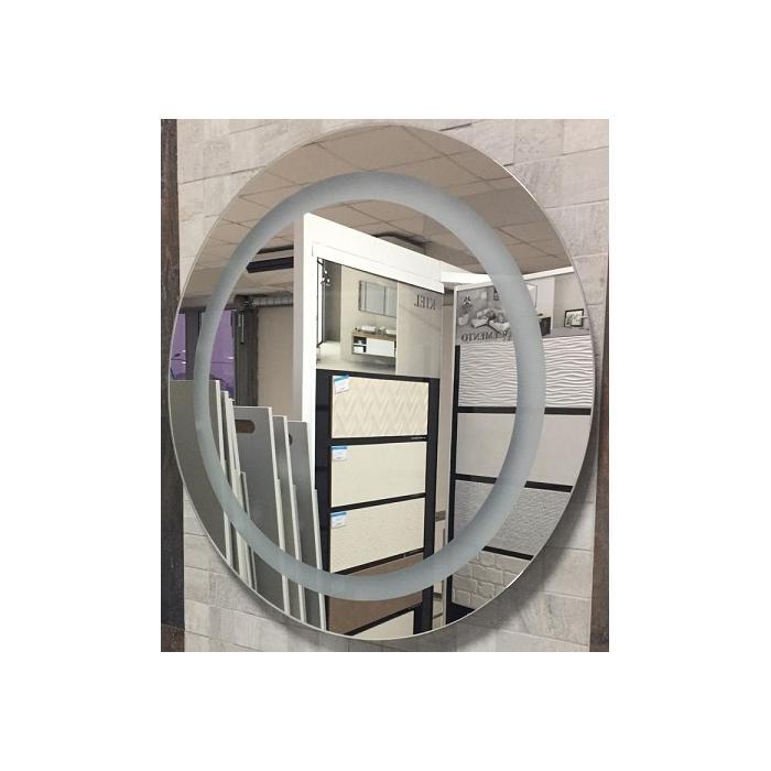 Фото сантехники Зеркало с подсветкой, d600 мм, круглое, ик-выключатель