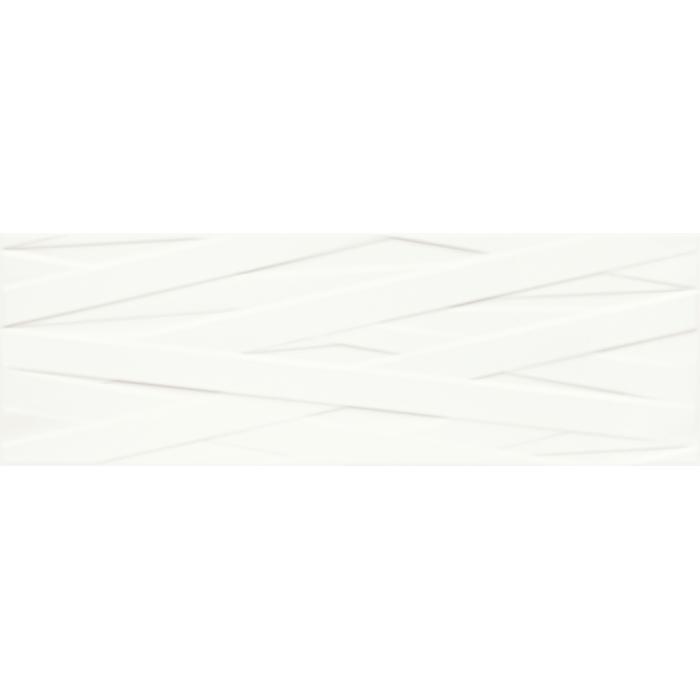 Текстура плитки Elia Bianco B Struktura 25x75