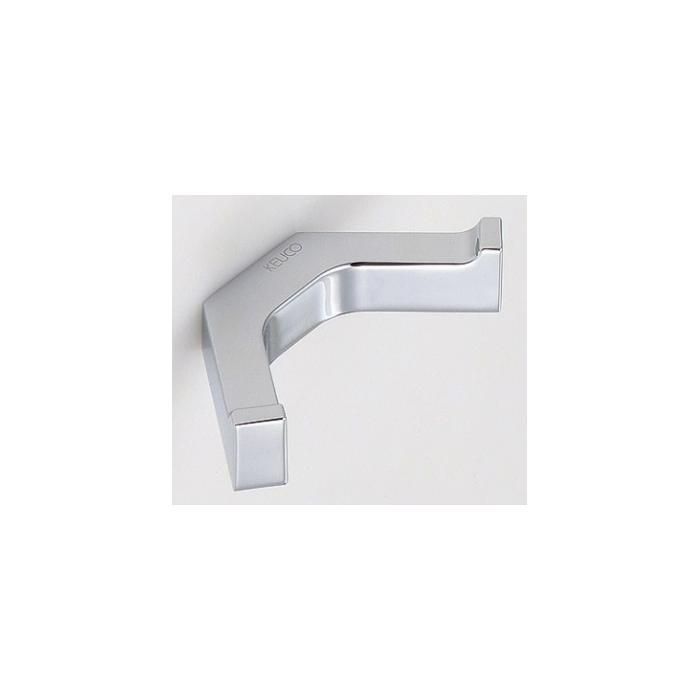 Фото сантехники Двойной крючок для полотенца, цвет хром