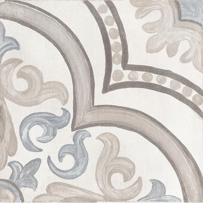 Текстура плитки Decor Daiza White 20x20