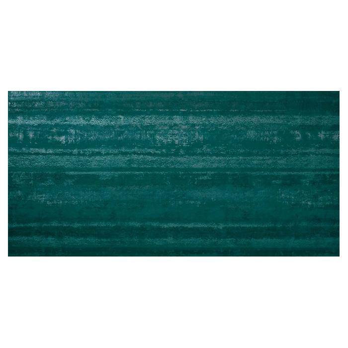 Текстура плитки Ewall Petroleum Green Stripes 40x80