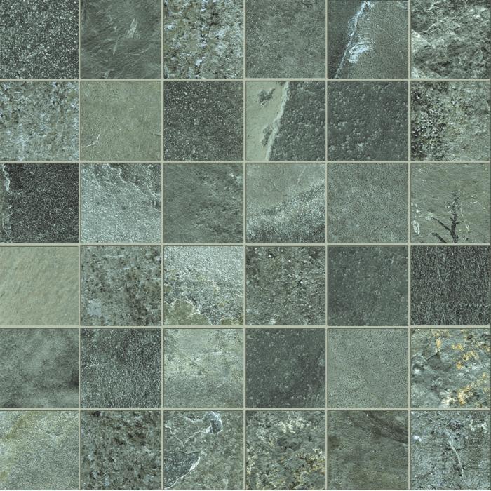 Текстура плитки High Line Mosaico Essex Lap Ret (5x5) 30x30
