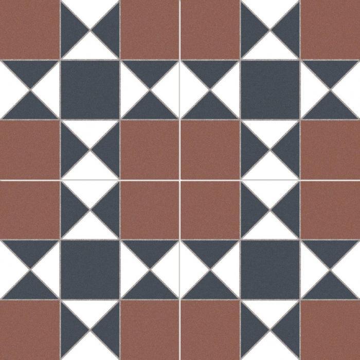 Текстура плитки Cardiff Burdeos 45x45
