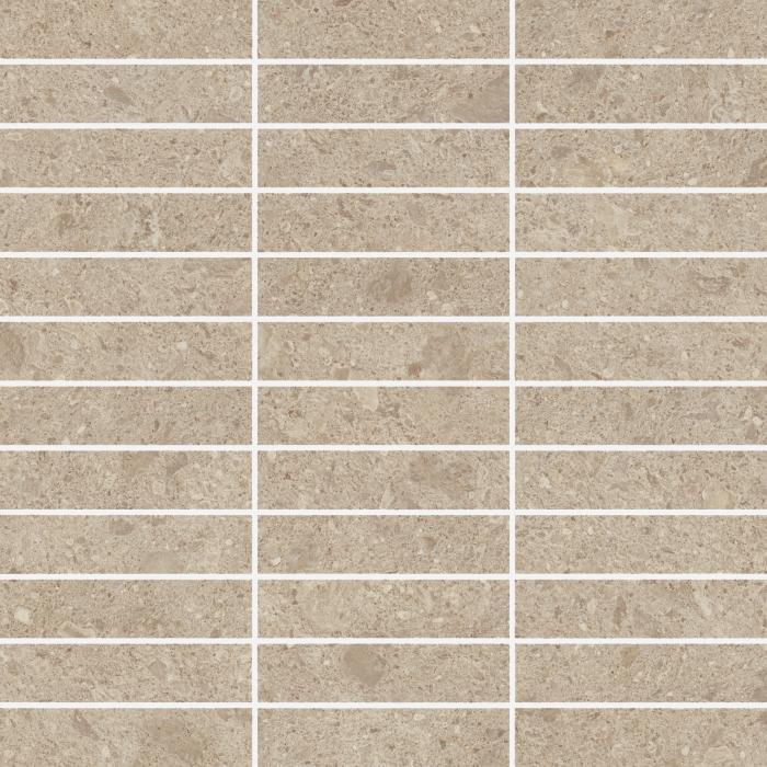 Текстура плитки Дженезис Венус Крим Мозаика Грид Нат. 30x30