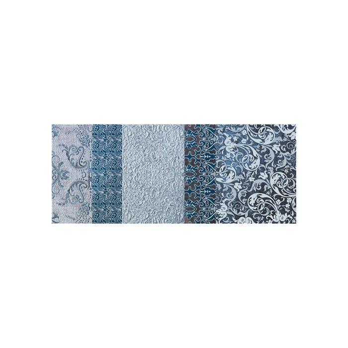 Текстура плитки Shine Turchese Batik B 24x59 - 2