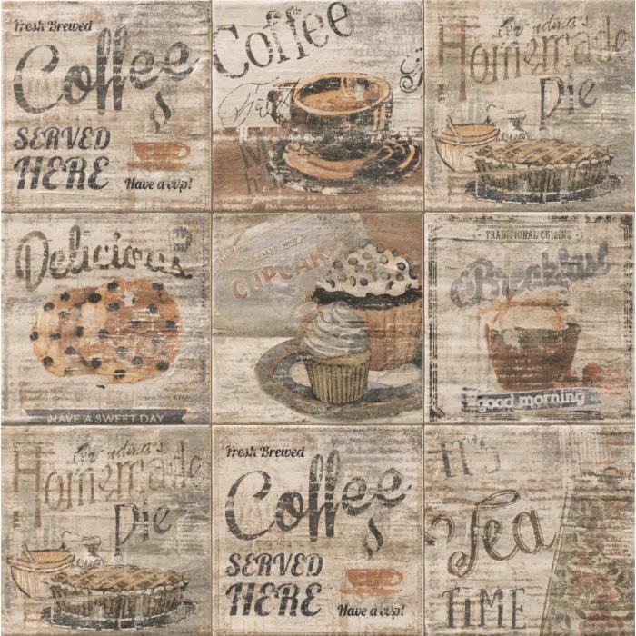 Текстура плитки Art Breakfast 20x20 - 2