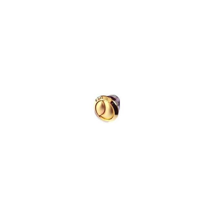 Фото сантехники Ricambi Кнопка двойная, механическая(для тросика), золото