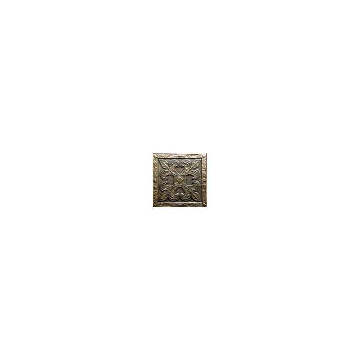 Текстура плитки Вензель Бронза 5x5 - 2