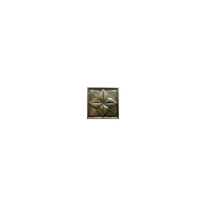Текстура плитки Лилия Бронза 5x5 - 2