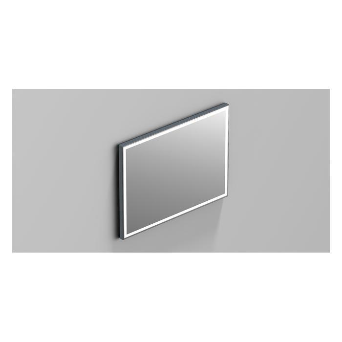 Фото сантехники Зеркало 80x60 с подсветкой, прямоугольное