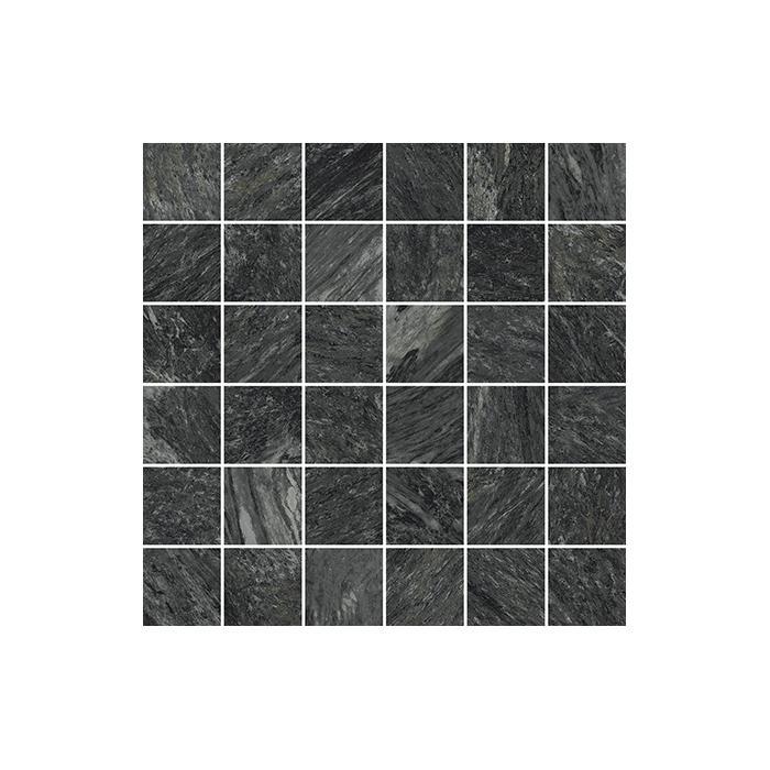 Текстура плитки Ска.Неро Мозаика Пат 30x30