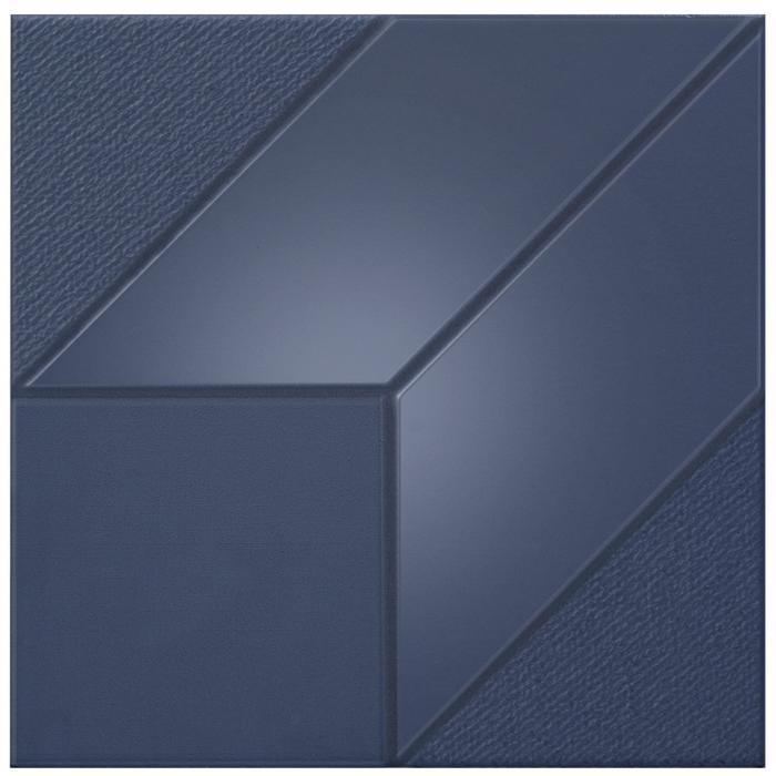 Текстура плитки Iso Blue Cube 30x30