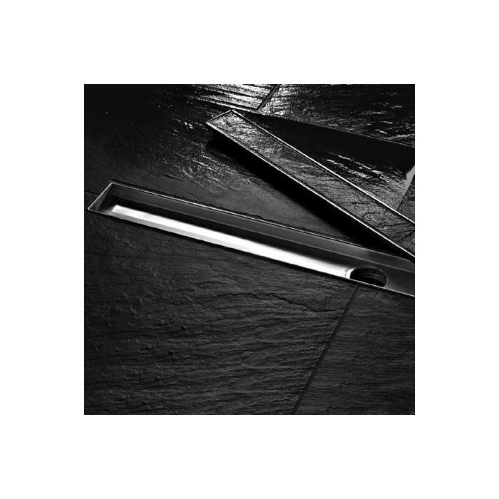 Фото сантехники Plate Лоток 800 мм, основа для плитки, нержавеющая сталь.