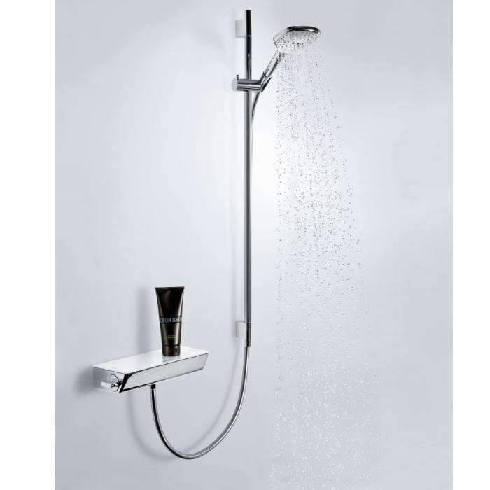 Фото сантехники Ecostat Select/Raindance Select E120 3 jet Душевой набор, цвет белый/хром