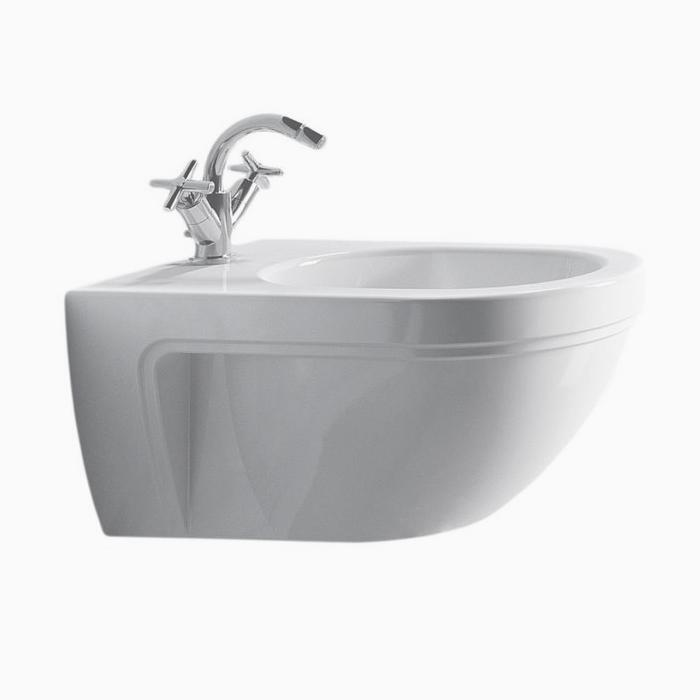 Фото сантехники Canova royal Биде подвесное 56х36 см, цвет белый