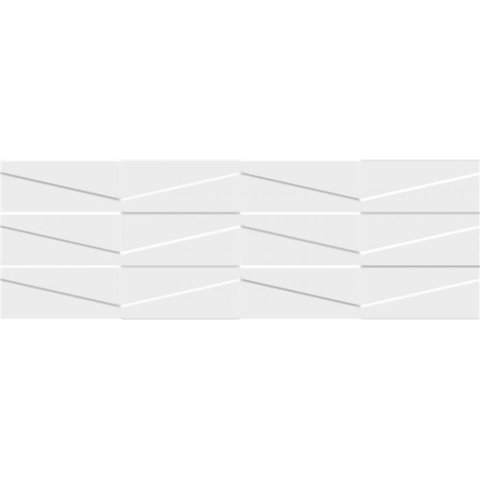 Текстура плитки Tel Awiv Bianco C Struktura 29.8x89.8