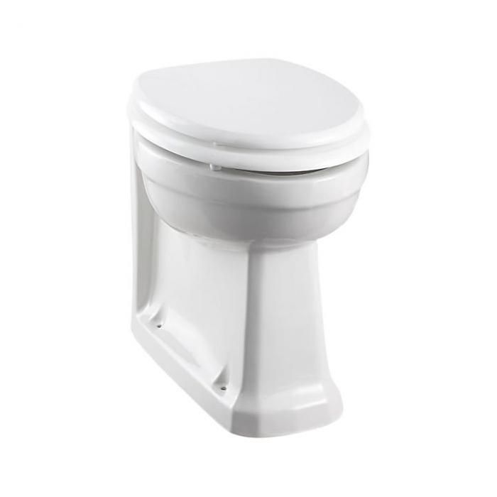 Фото сантехники Унитаз пристенный,без сиденья 47х36х40 см, цвет белый