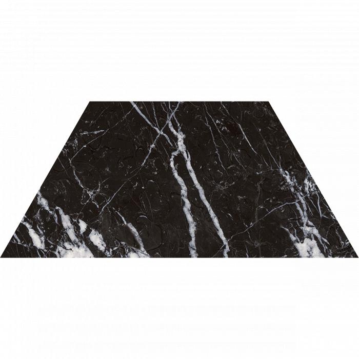 Текстура плитки Trap. Marquina Black/34.5x15/EP 34.5x15
