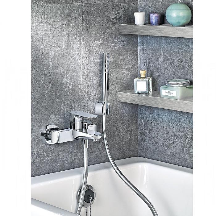 Фото сантехники X-Line Смеситель для ванны, цвет хром - 2