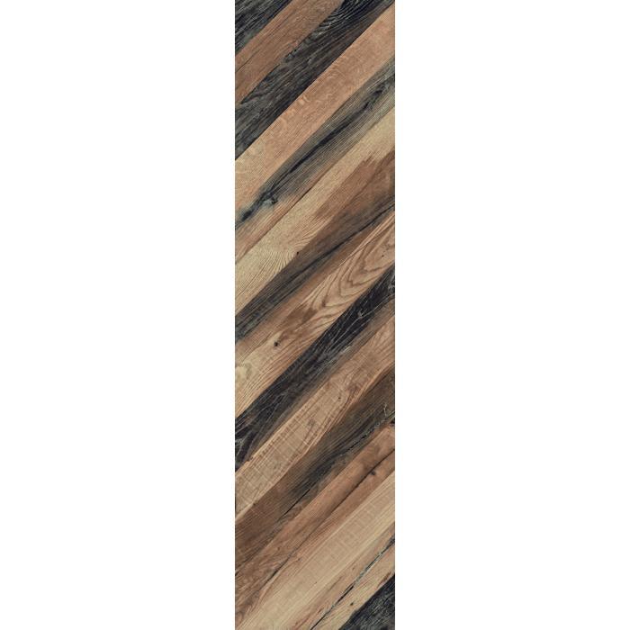 Текстура плитки Chevron Huile R 37.5x150