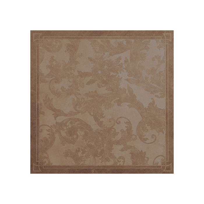 Текстура плитки Marble Dec.Cass. Foglia Marrone Lap 58.5x58.5