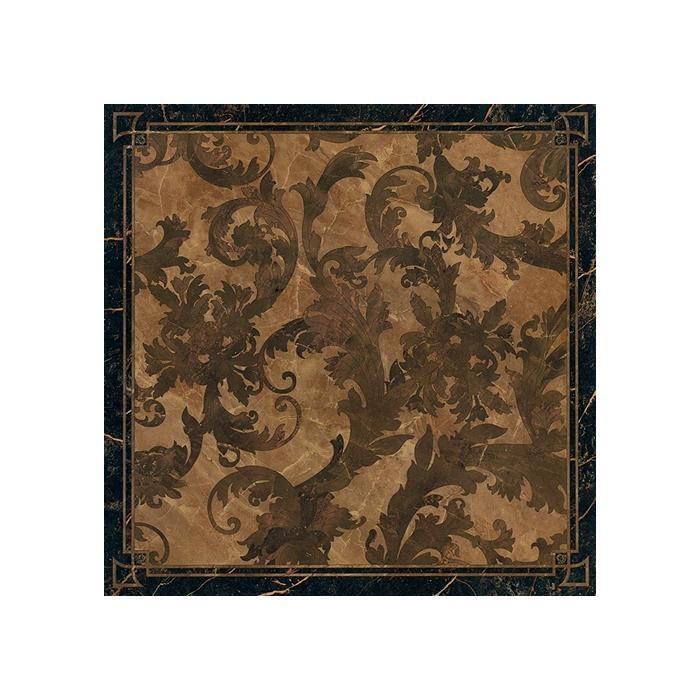 Текстура плитки Marble Dec.Cass. Foglia Nero Lap 58.5x58.5
