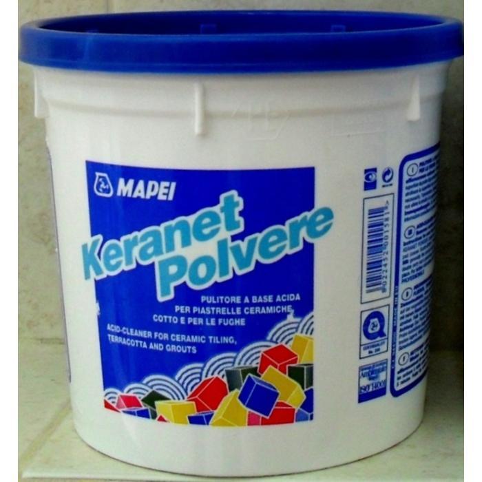 Строительная химия Keranet Powder 1 kg очиститель цементных остатков